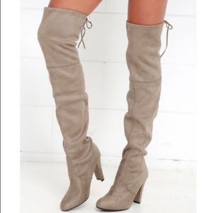 """Steve Madden """"Gorgeous"""" Over The Knee Boots"""